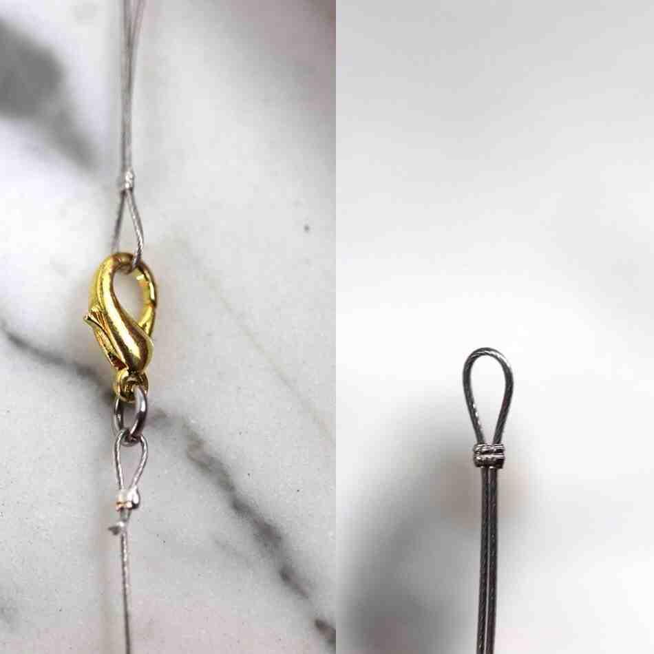 Comment faire un nœud pour fermer un bracelet ?