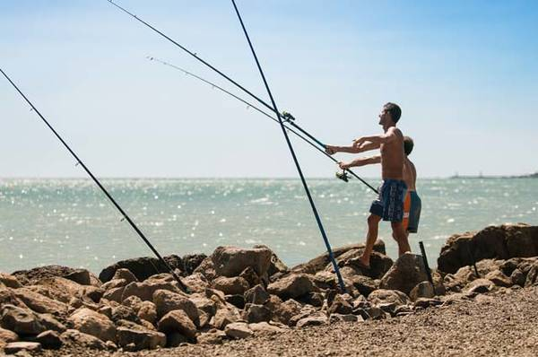 Leurre peche en mer