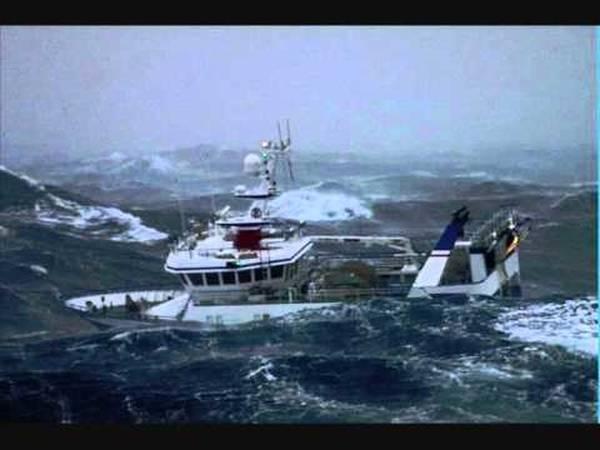 peche en mer en bateau